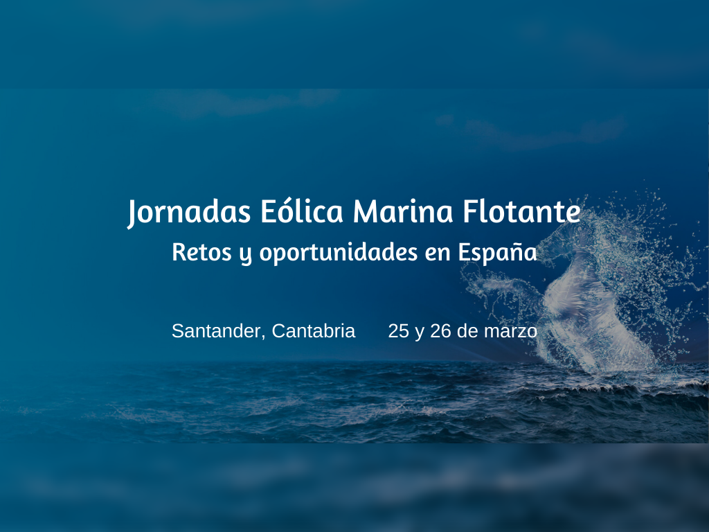 jornadas eólica marina flotante en Santander