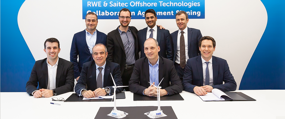 RWE Renewables and Saitec Offshore Technologies have joined forces